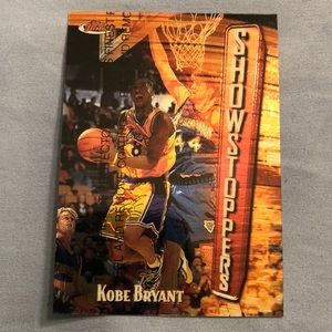 Kobe Bryant rookie Showstoppers Card.